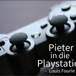 Pieter in die playstation