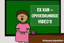 Ek kan – Gratis opvoedkundige video's