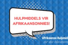 Hulpmiddels vir VOO-Afrikaansonderwysers