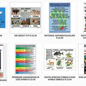 Oulike plakkate oor Suid-Afrika