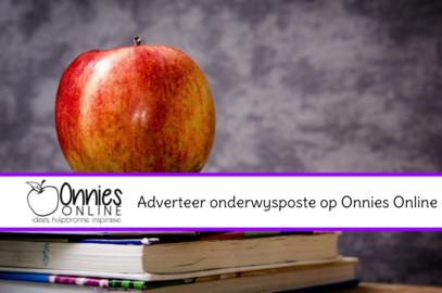 Adverteer onderwysposte op Onnies Online